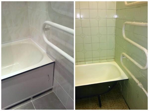 vonios atnaujinimas